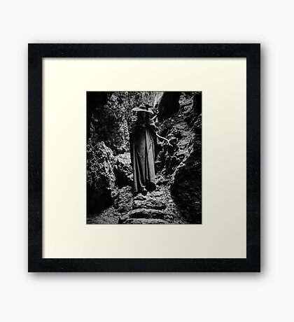 Mountain Witch Framed Print
