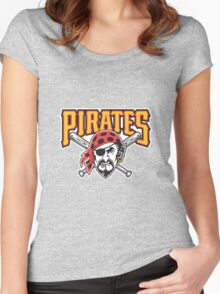 Pittsburgh Pirates MLB Women's Fitted Scoop T-Shirt