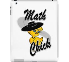Math Chick #4 iPad Case/Skin