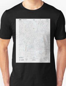USGS TOPO Map Arkansas AR Treat 20110729 TM Unisex T-Shirt