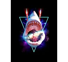 Cosmic Shark Photographic Print