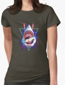 Cosmic Shark Womens Fitted T-Shirt