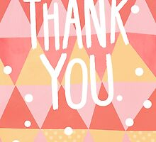 Thank You Card by Claire Stamper