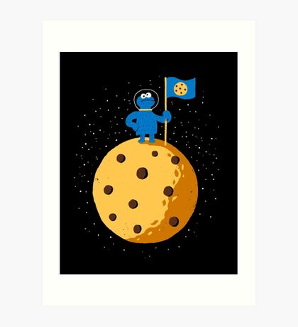 Cookie Conquered Art Print