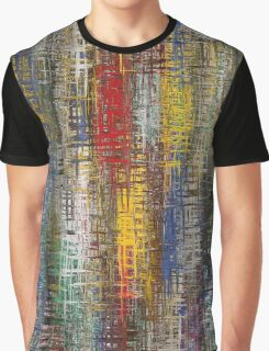 Colorful Grunge Graphic T-Shirt