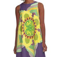 Star Mandala A-Line Dress