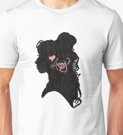 Amy Winehouse Silhouette  Unisex T-Shirt