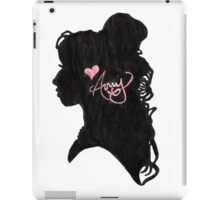 Amy Winehouse Silhouette  iPad Case/Skin