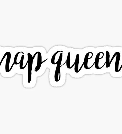 Nap Queen Sticker