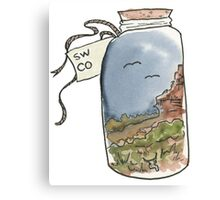 SW CO in a Jar Canvas Print