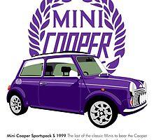 Classic 1999 Mini Cooper S Sportspack by car2oonz