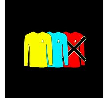 Minimalism - The Red Shirt Blues Photographic Print