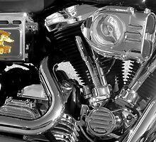 Shine On, Harley Davidson by AuntDot