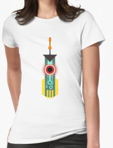 Transistor Sword Womens Fitted T-Shirt