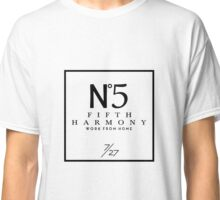 Fifth Harmony Official 7/27 Merch #1 ( Black Text ) Classic T-Shirt