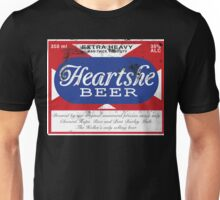 Distressed Heartshe Beer Logo Unisex T-Shirt