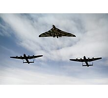 Three Avro bombers Photographic Print