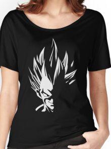 Vegeta Stencil Women's Relaxed Fit T-Shirt