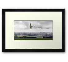 Eagle over England Framed Print