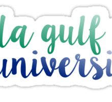 Florida Gulf Coast University Sticker