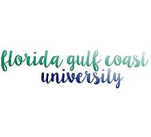 Florida Gulf Coast University Photographic Print