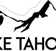 LAKE TAHOE NEVADA Mountain Skiing Ski Snowboard Snowboarding Sticker