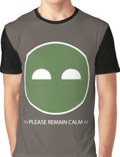 Halo ODST Superintendent - Calm Graphic T-Shirt