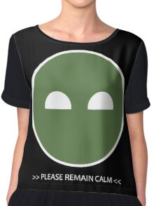 Halo ODST Superintendent - Calm Chiffon Top