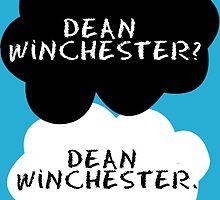 Dean Winchester? Dean Winchester. by tinylittletr