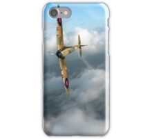 Battle of Britain Spitfire shoots down Messerschmitt Bf 109 iPhone Case/Skin