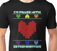 Determination. Unisex T-Shirt