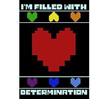 Determination. Photographic Print