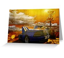 Viper Stop for Gaz and Sunscreen Greeting Card