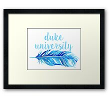 Duke University Framed Print