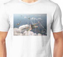 Headlong attack (Hurricanes over Dorset) Unisex T-Shirt
