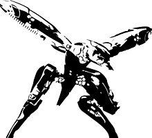 Metal Gear Ray Silhouette by PatriotShadow