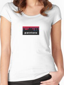 Patriots Women's Fitted Scoop T-Shirt