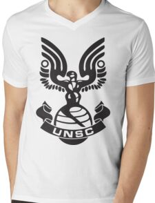 UNSC Logo Mens V-Neck T-Shirt