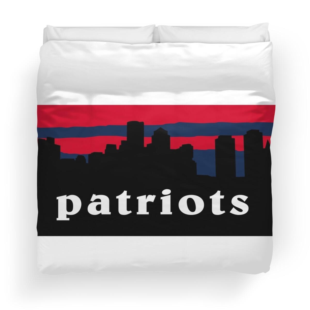 New England Patriots Duvet Covers Redbubble