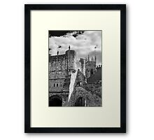 York Minster and Bootham Bar Framed Print