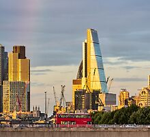 City of London Cityscape by Graham Prentice