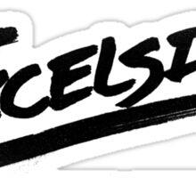 Excelsior! Sticker