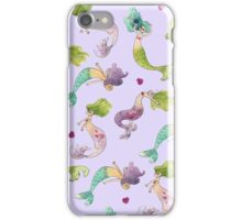 Mermaid Party iPhone Case/Skin