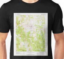 USGS TOPO Map Arkansas AR Green Forest 258605 1972 24000 Unisex T-Shirt