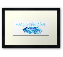 University of Mary Washington Framed Print