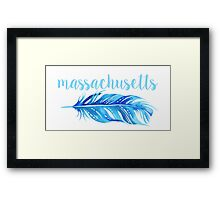 University of Massachusetts Framed Print