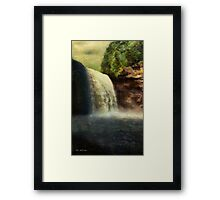 Dawn Falls Framed Print