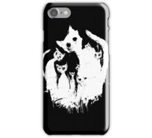 Ghost cat iPhone Case/Skin
