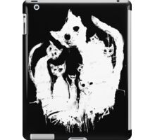 Ghost cat iPad Case/Skin