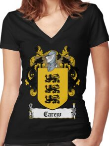 Carew (Carey, Kerry) - Cork Women's Fitted V-Neck T-Shirt